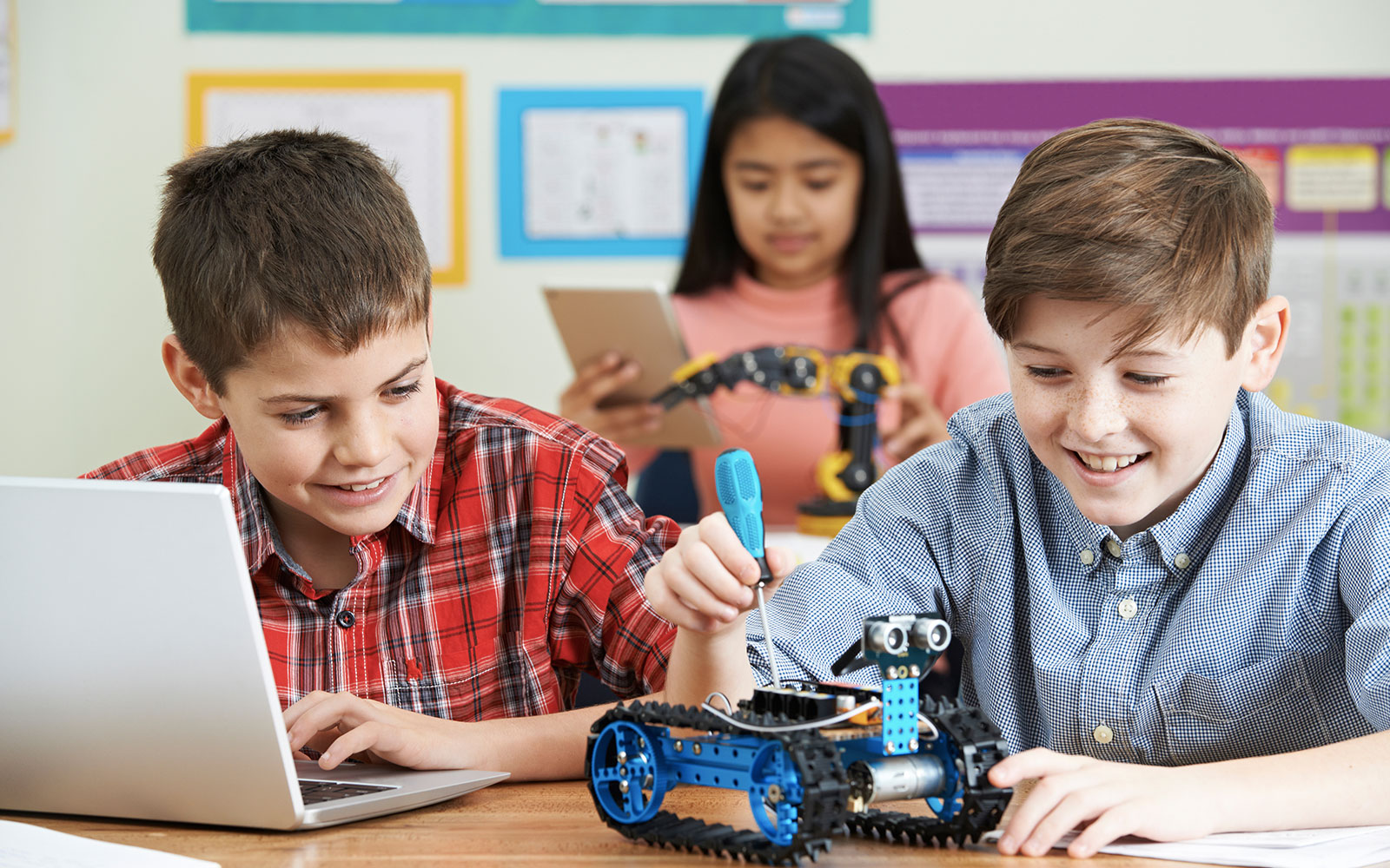 Funds Fuel STEAM Lab Robotics Learning